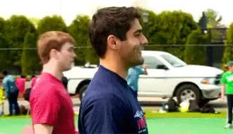Watch and share American Football GIFs and Jimmy Garoppolo GIFs on Gfycat