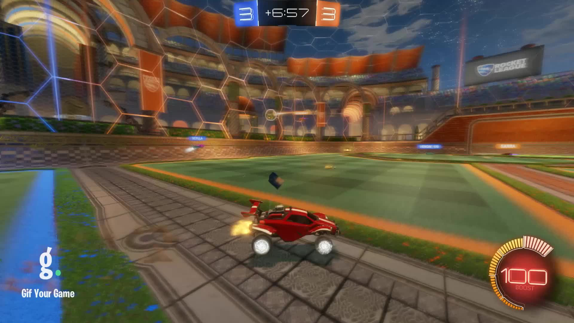 Gif Your Game, GifYourGame, Goal, Kenbo., Rocket League, RocketLeague, Goal 7: Kenbo. GIFs