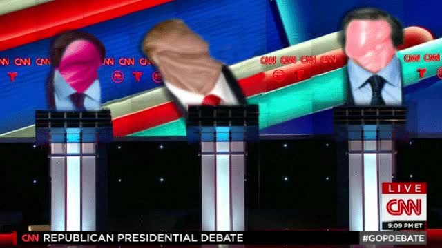 Watch and share Debate GIFs and Trump GIFs by robocopera on Gfycat
