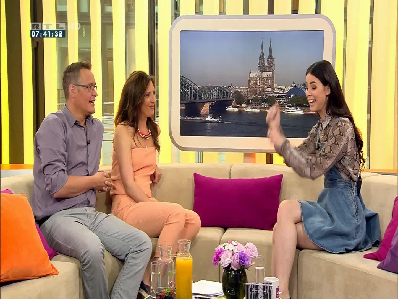 Lena Meyer Landrut Guten Morgen Deutschland 2015 GIFs