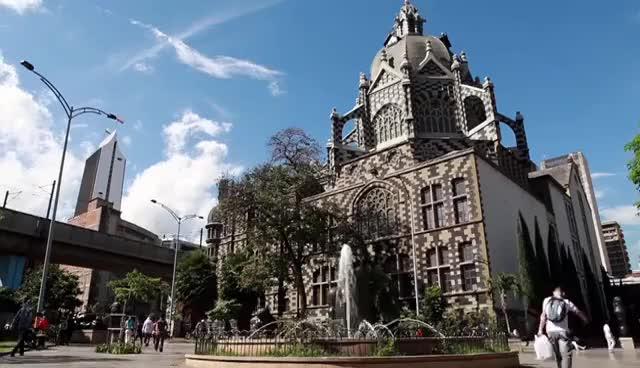 Watch and share Plaza Botero Medellín Colombia GIFs on Gfycat