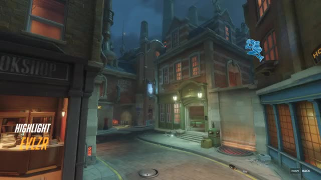 Watch and share Overwatch GIFs and Highlight GIFs by EVLZR on Gfycat