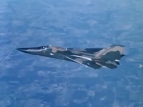 "Watch F-111 Swing Wing: ""Variable Wing Sweep Mechanism Demonstration"" ~1965 General Dynamics; JQ Music GIF by @wholeein on Gfycat. Discover more education, educational, militarygfys GIFs on Gfycat"