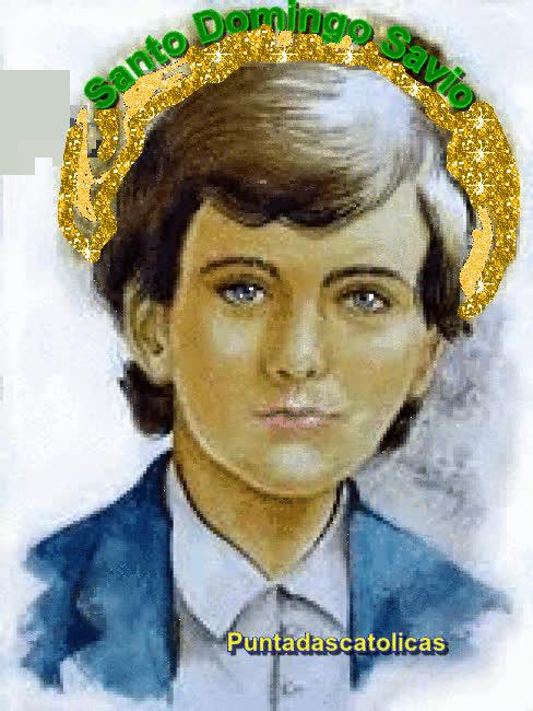 A los doce años Domingo ofrece su vida a la Inmaculada GIFs