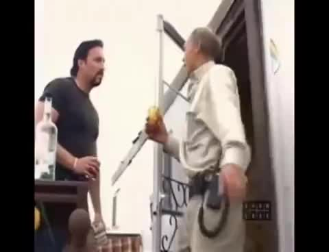 Trailer Park Boys Jim Lahey Falls Down The Stairs Gif Find Make