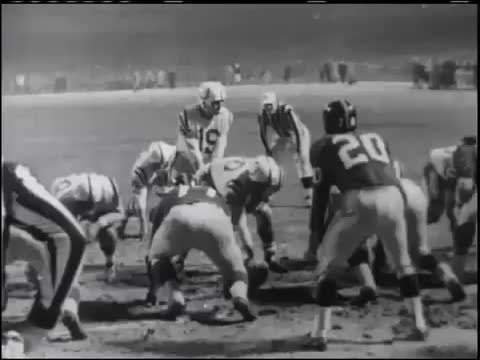 nflgifs, Alan Ameche Punches It In (Baltimore VS NY, 1958 NFL Championship Game) (reddit) GIFs