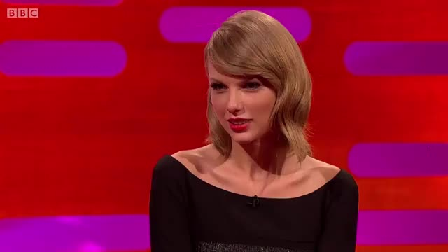 Watch Taylor Swift GIF on Gfycat. Discover more Graham Norton (TV Personality), Season 16, Talk Show (TV Genre), Taylor Swift (Celebrity), The Graham Norton Show (TV Program), taylor swift GIFs on Gfycat