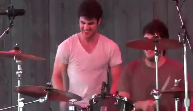 Watch drummer darren GIF on Gfycat. Discover more darren, darren criss, drumming GIFs on Gfycat