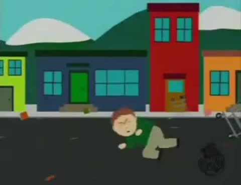 faceplant, park, south, win, Southpark faceplant GIFs
