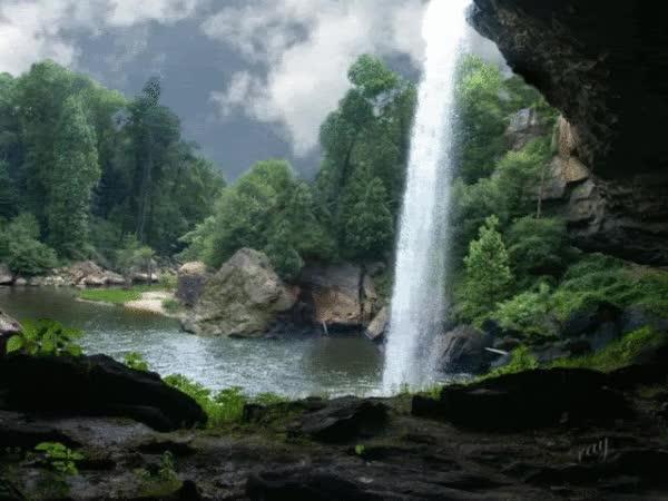 Watch and share Waterfalls GIFs on Gfycat