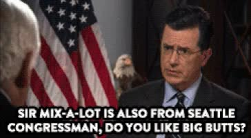Watch and share Stephen Colbert GIFs on Gfycat
