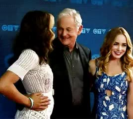 Watch and share Victor Garber GIFs and Ctv Upfronts GIFs on Gfycat