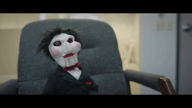 Watch Working With Jigsaw GIF on Gfycat. Discover more Horror, Saw, Scary, billy, comedy, funny, halloween, jigsaw, naptime, office, parody, sketch, spoof, tricycle GIFs on Gfycat