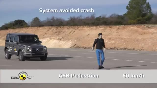 Watch and share Euro NCAP Crash Test Of Mercedes-Benz G-Class 2019 GIFs on Gfycat