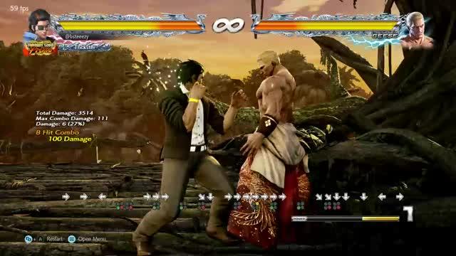 Watch Hwoarang Wall Combo #1 GIF by BSteeezy (@bsteeezy) on Gfycat. Discover more Combo, Hwoarang, Tekken, Tekken 7 GIFs on Gfycat
