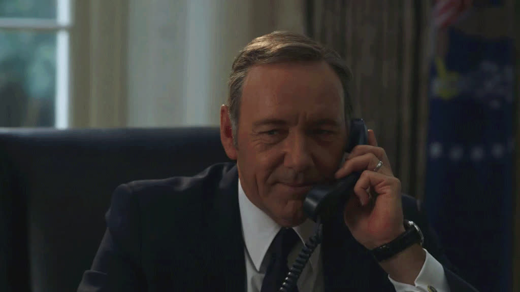 house of cards, kevin spacey, This Wild 'House Of Cards' Theory Actually Makes Sense | The Huffington Post GIFs