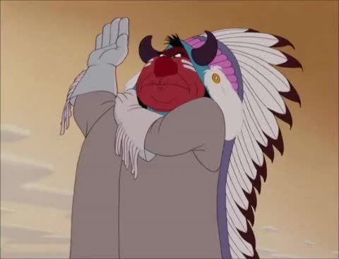 Watch and share Disney Impressions - Indian Chief GIFs on Gfycat