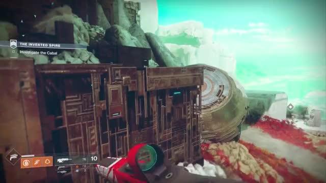 Destiny 2: Inverted Spire - New Strike Gameplay (Gunslinger