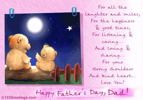 Watch Happy Birthday Daddy Poems Free ECards Greeting Cards From 123greetings