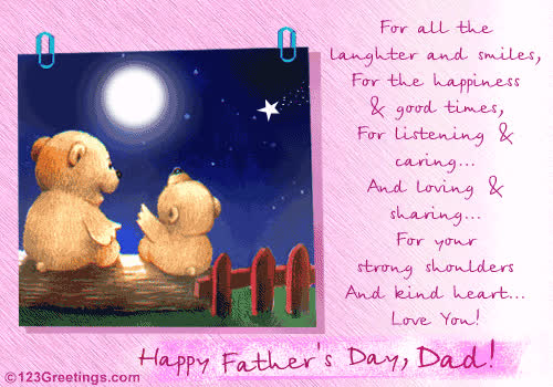 Happy Birthday Daddy Poems Free ECards Greeting Cards From 123greetings GIF