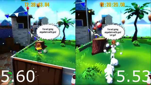 Watch and share Barrel Battle Fight Entry Slingshot Comparison GIFs by doesthisusername on Gfycat