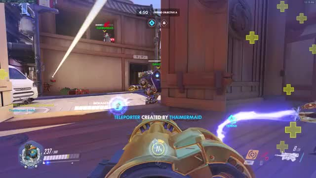 Watch bastionteleport GIF by @senpai_cx on Gfycat. Discover more ana, overwatch GIFs on Gfycat