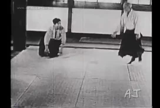 aikido, ueshiba GIFs