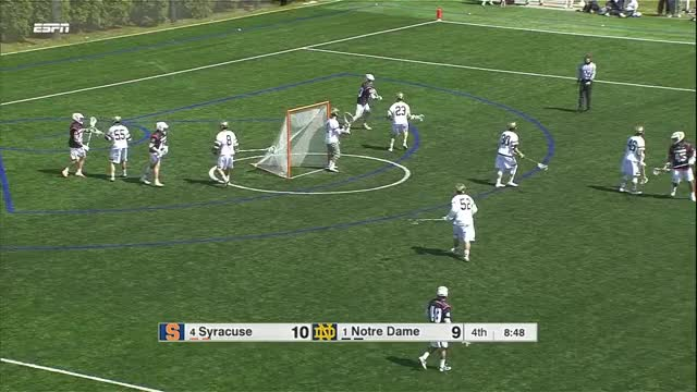 Watch Nick Mariano scores sweeping topside to his left and shooting on the run GIF by Lacrosse Film Room (@laxfilmroom) on Gfycat. Discover more lacrosse, lefty, syracuse GIFs on Gfycat