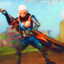 Watch and share 6 Impa + Costumes GIFs on Gfycat