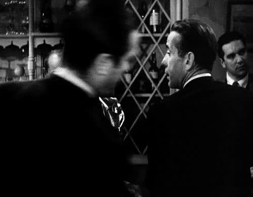 Watch and share My Gif Gif The Big Sleep Lauren Bacall Humphrey Bogart *tbs GIFs on Gfycat