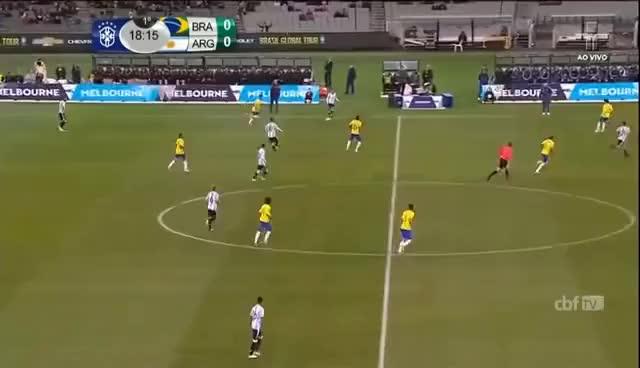 Watch and share Jogo Completo   Brasil X Argentina   Amistoso Internacional   09/06/2017 GIFs on Gfycat