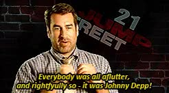 Watch A Johnny Depp Blog GIF on Gfycat. Discover more 21 jump street, brie larson, channing tatum, gif: 21 jump street 2012, johnny depp, rob riggle GIFs on Gfycat