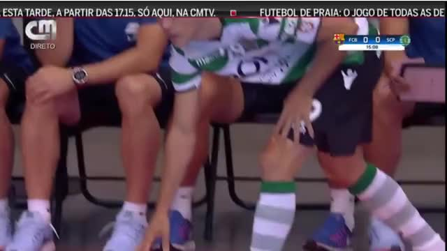 Watch and share Masters Cup | Sporting CP 3-4 FC Barcelona | Full Match GIFs on Gfycat