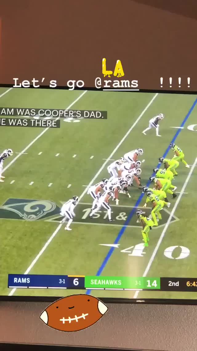 Watch and share Los Angeles Rams GIFs and Seattle Seahawks GIFs by Charles Carmichael on Gfycat