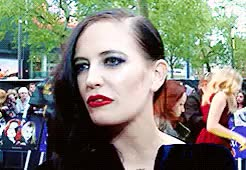 Watch eva daily GIF on Gfycat. Discover more *, 2012, egreenedit, eva green, evagreenedit, event, gif, interview, pennydreadfulcastedit GIFs on Gfycat