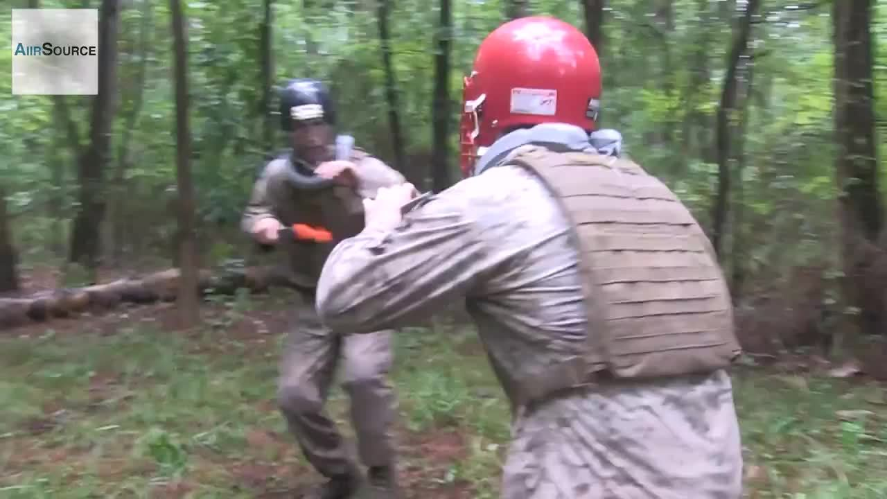 militarygfys, Marines practice knife fighting GIFs