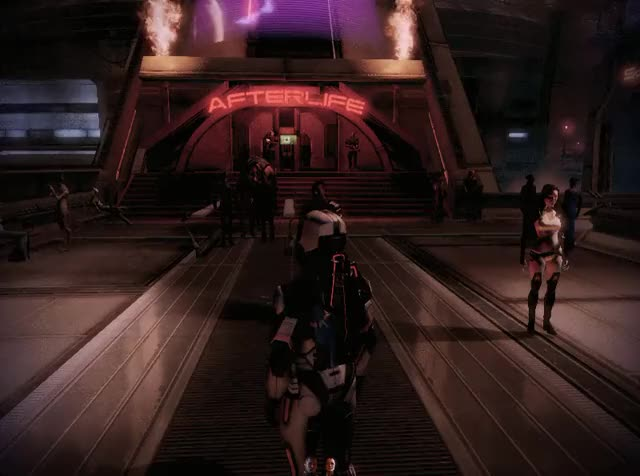 Watch and share Masseffect GIFs and Cyberpunk GIFs by Gothicmaster on Gfycat