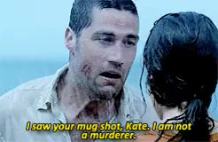 Watch and share Jack Shephard GIFs and Kate Austen GIFs on Gfycat