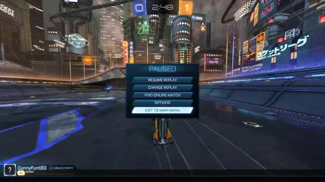 Watch and share Rocket League 03 21 2017   17 40 14 01 1 15 GIFs on Gfycat