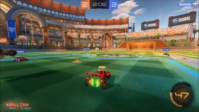 Watch and share Double Hit Wall Aerial GIFs by Rocket League on Gfycat