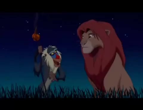 Watch and share Lion King GIFs and Rey Leon GIFs on Gfycat