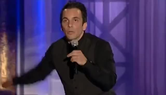 Watch and share Doorbell | Sebastian Maniscalco: What's Wrong With People? GIFs on Gfycat