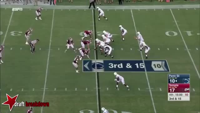 Watch and share Christian Hackenberg Pocket Movement GIFs on Gfycat
