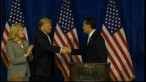 donald trump, handshake, trump, trump clap GIFs