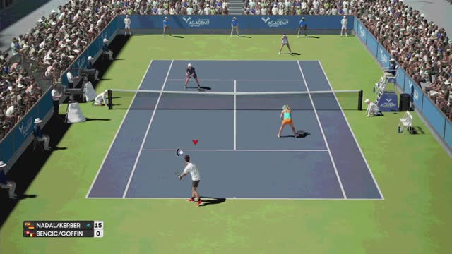 Watch and share Ao-tennis-depressing-doubles GIFs on Gfycat