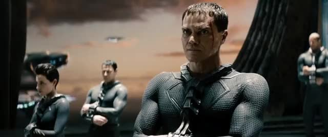 Watch and share Michael Shannon GIFs and Man Of Steel GIFs by Ricky Bobby on Gfycat