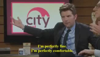 Watch this adam scott GIF on Gfycat. Discover more adam scott, adam scott gif, ben wyatt, ben wyatt human disaster, fine, human disaster, parks and rec, parks and recreation, paul rust GIFs on Gfycat