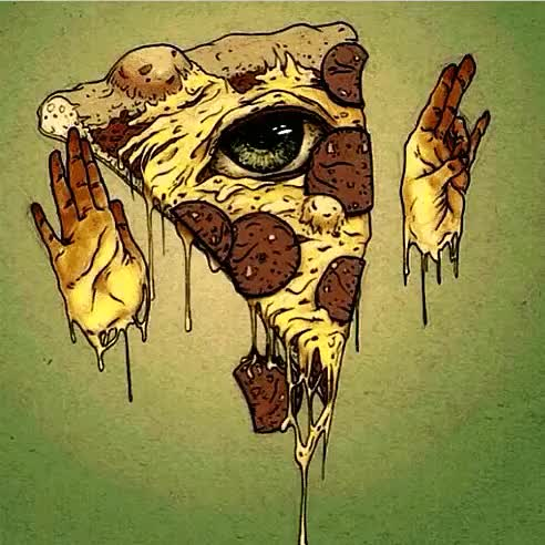 Watch and share Pizza Illuminati GIFs and Moving Image GIFs on Gfycat