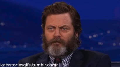 Watch giggles GIF on Gfycat. Discover more nick offerman GIFs on Gfycat