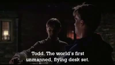 Watch and share Dead Poets Society GIFs and Todd Anderson GIFs on Gfycat